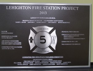 Lehighton Fire Station