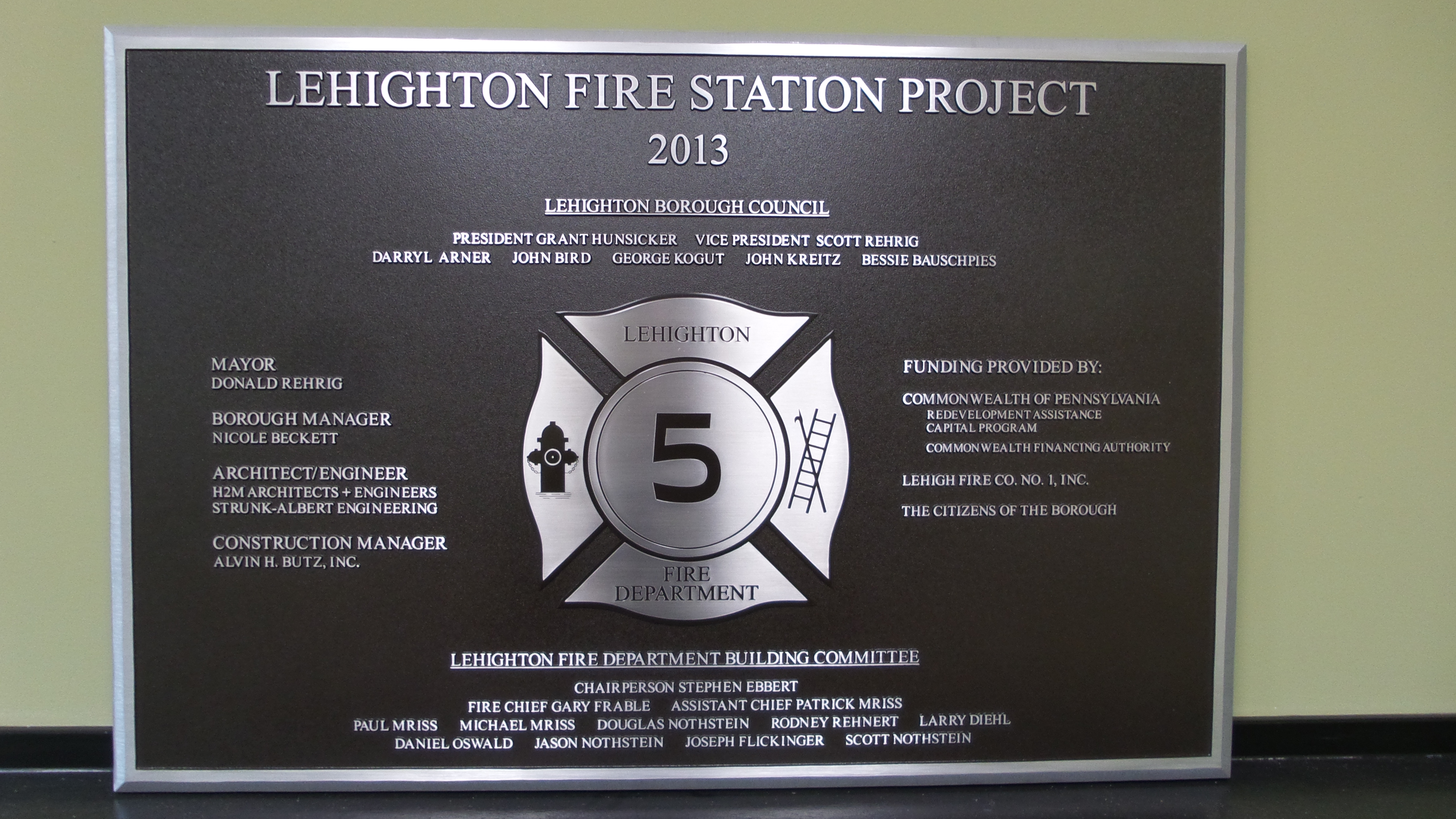 Lehighton Fire Station Project